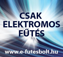 Csak elektromos fűtés, www.e-futesbolt.hu